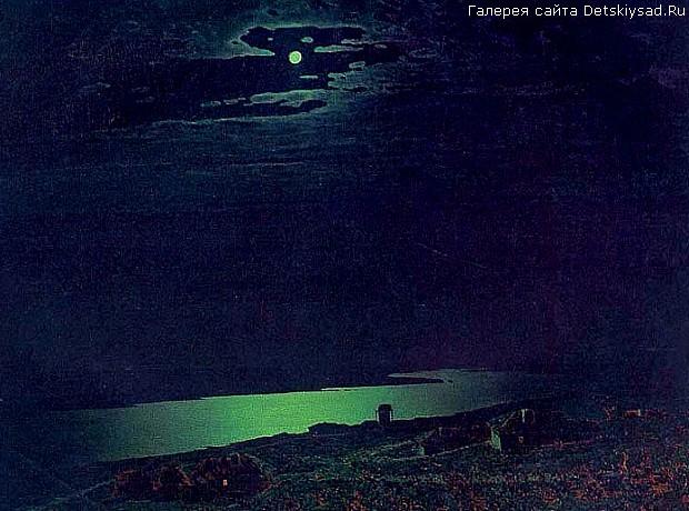 Картина куинджи ночь на днепре