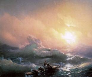 Описание картины И. К. Айвазовского «Девятый вал»