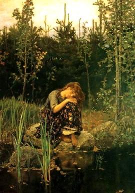 Описание картины В. М. Васнецова «Алёнушка»