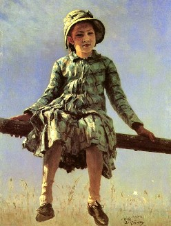 Описание картины И. Е. Репина «Стрекоза»