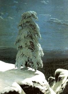 Описание картины И. И. Шишкина «На севере диком»