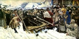 Описание картины В. И. Сурикова «Боярыня Морозова»